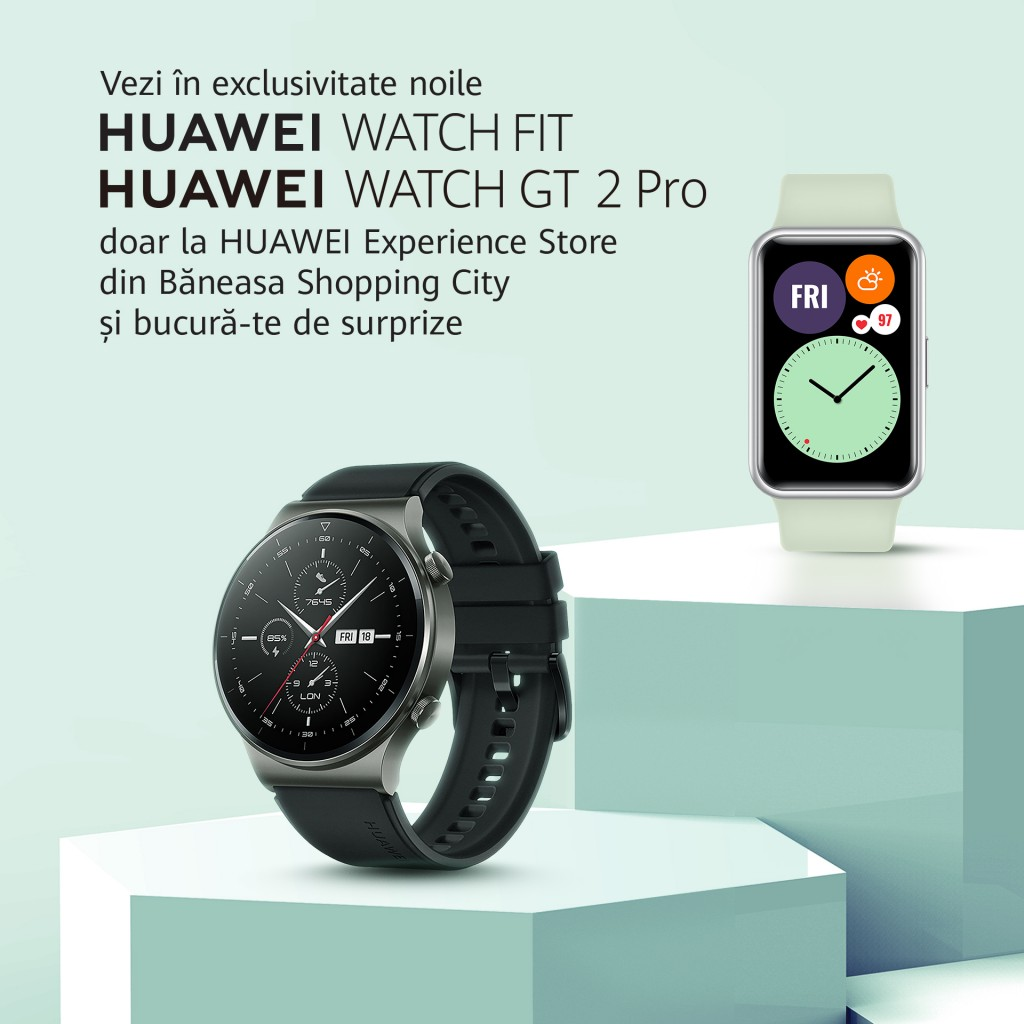 HUAWEI WATCH FIT & HUAWEI WATCH GT 2 Pro (2)